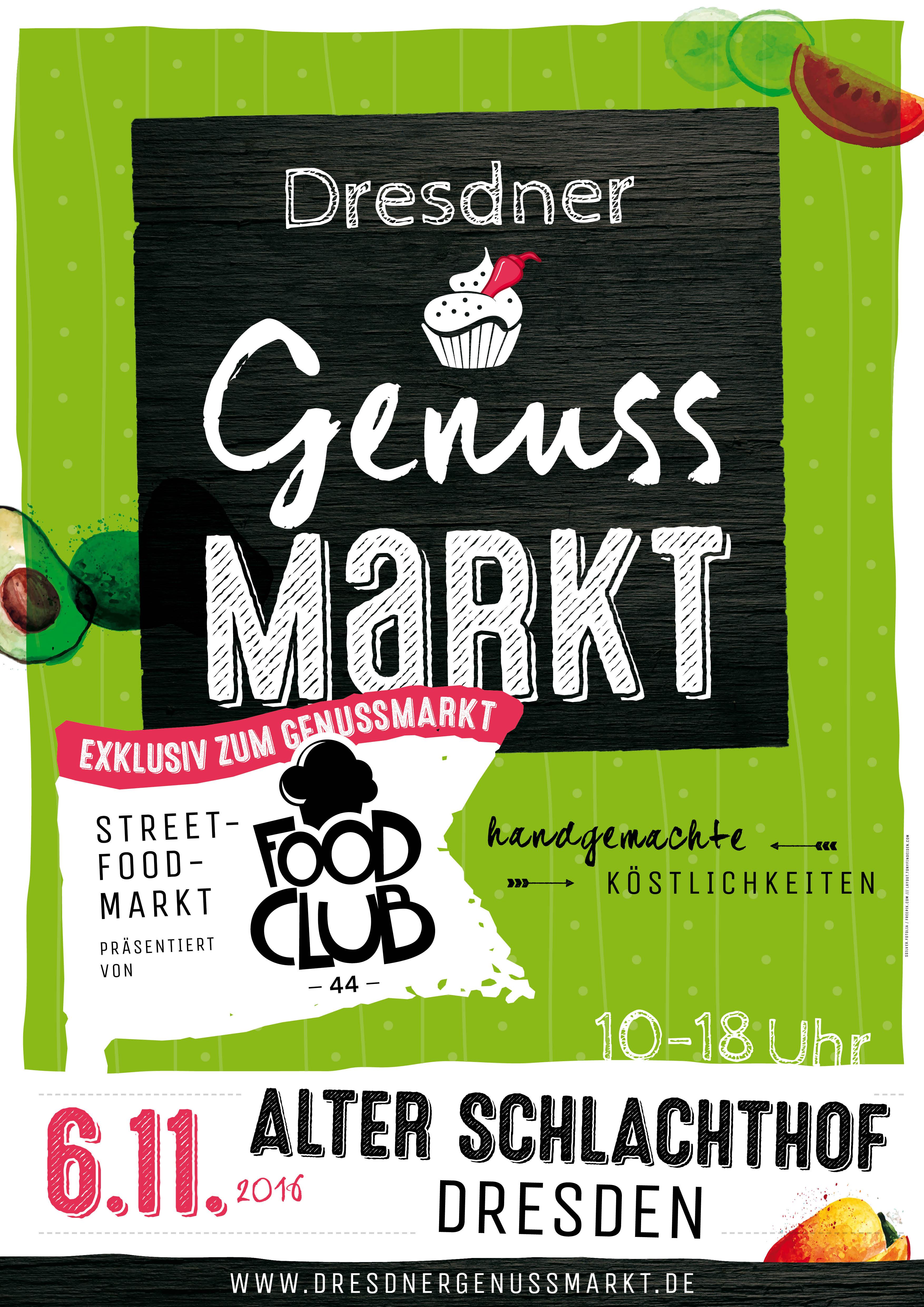 A1_genussmarkt+foodclub_061116_vorankuendiger